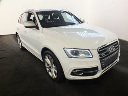 2017 Audi SQ5 8R MY17 3.0 TDI Quattro Ibis White 8 Speed Automatic Wagon