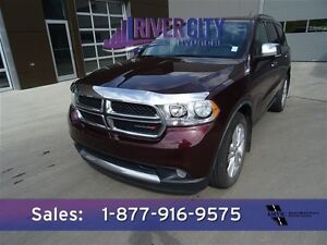 2012 Dodge Durango AWD CREWPLUS Leather,  Heated Seats,  Back-up Edmonton Edmonton Area image 1