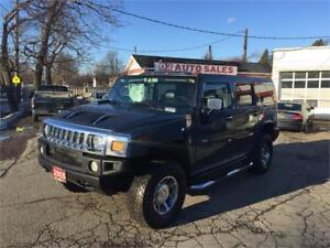 2005 Hummer H2 Accident Free/Leather/Roof/Loaded/Certified