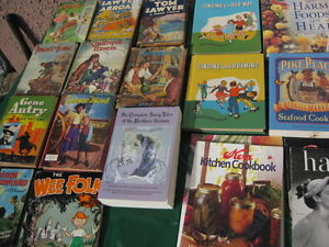 Old books (Tom Sawyer, Lassie, Kidnapped, etc)