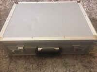 Secured Lockable new silver Tool box for sale