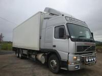 Volvo FM12 340 6X2 Fridge Truck 2000
