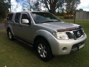 2012 Nissan Navara D40 ST (4x4) Silver 6 Speed Manual Dual Cab Pick-up Tuggerah Wyong Area Preview