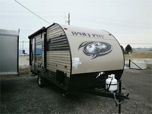 2018 Forest River RV Cherokee Wolf Pup 17RP TOY HAULER! $16995!