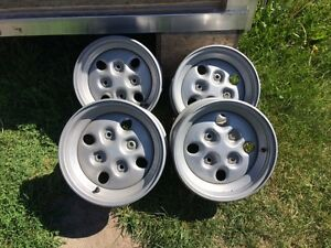 New Arctic Cat Steel ATV Rims (4)