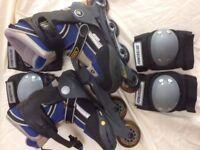 Raiders Roller Blades Size 2-5