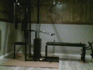 York 2001 Complete Gym With Pec Mate!!