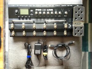Line 6 Pod X3 Live Multi-Effects Pedal (Reduced Price)
