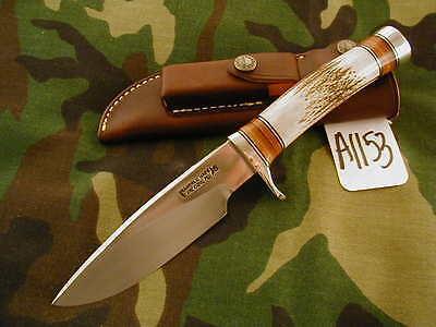 "RANDALL KNIFE KNIVES #25-5"",SS,TN,NSSH,STAG,DB #A1153"
