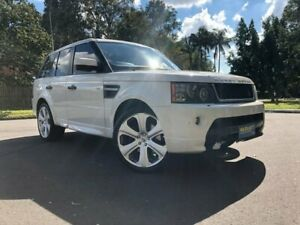 2010 Land Rover Range Rover Sport L320 10MY TDV6 White 6 Speed Sports Automatic Wagon Woodridge Logan Area Preview