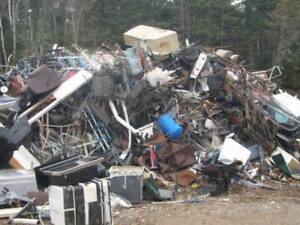 FREE APPLIANCE / SCRAP METAL DROP OFF SITE