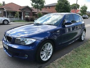 2008 BMW 120I E87 MY07 E87 Hatchback 5dr Auto 6sp 2.0i [MY07] Blue 6 Speed Automatic Hatchback Croydon Burwood Area Preview