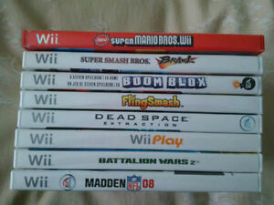 Lot of 5 Good Nintendo Wii Games For Sale - 5 for $25