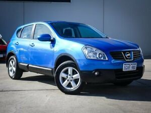 2009 Nissan Dualis J10 ST X-tronic AWD Blue 6 Speed Constant Variable Hatchback Midvale Mundaring Area Preview