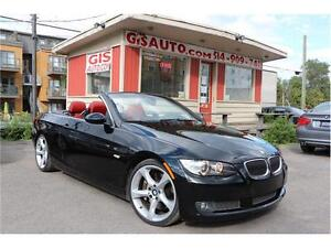 """2008 BMW Série 3 335i  SPORT CUIR ROUGE 72000KM MAGS 19"""""""
