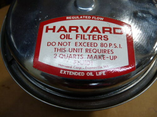 NEW!! HARVARD ULTRA FINE PARTICLE OIL FILTER