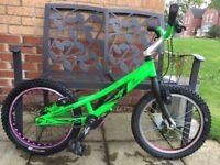 "Rare upgraded Onza Mini Master 18"" Trial Bike (£350)"