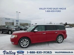 LUXURIOUS FAMILY TRAVEL! 2012 Ford Flex Limited AWD