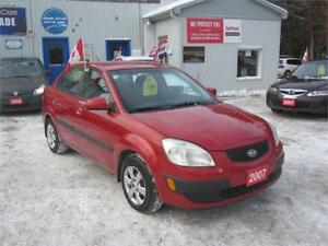 2007 Kia Rio EX|MUST SEE| NO ACCIDENTS| NO RUST| ONLY 144 KM