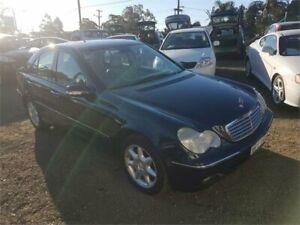 2001 Mercedes-Benz C320 W203 Elegance Blue Sedan Lansdowne Bankstown Area Preview