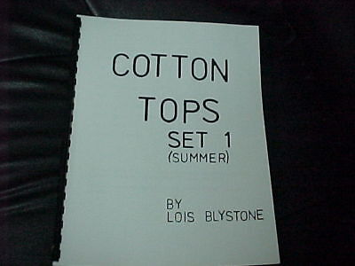 Cotton Tops Set 1 (Summer) Easy To Knit