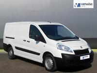 2014 Peugeot Expert HDI 1000 L1H1 Diesel white Manual
