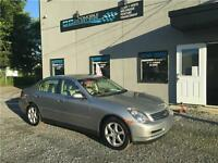 2004 Infiniti Berline G35X Luxury AWD + GARANTIE UN AN INCLUSE