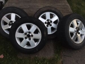 "16"" alloy rims (very good condition)"