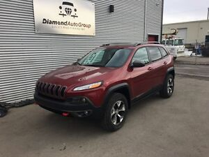 2015 Jeep Cherokee Trailhawk Apply for Financing Today