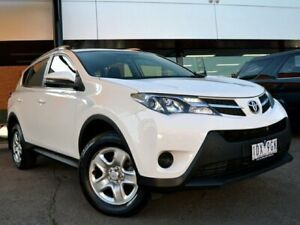 2015 Toyota RAV4 ZSA42R MY14 GX 2WD White 7 Speed Constant Variable Wagon Fawkner Moreland Area Preview