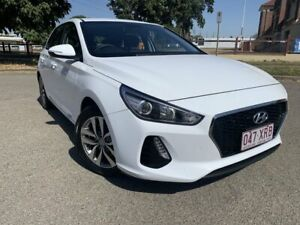 2017 Hyundai i30 PD MY18 Go Polar White 6 Speed Sports Automatic Hatchback Townsville Townsville City Preview