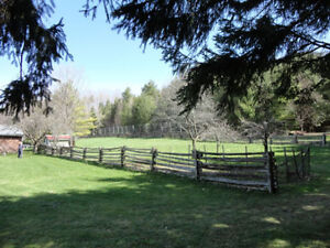 1/2 Acre 12' Tall Fenced Area for Rent in Formosa -Monthly Rent Kitchener / Waterloo Kitchener Area image 2