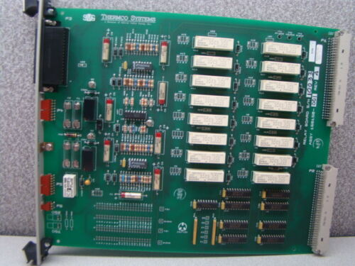 SVG Thermco 604096-06 Relay Wet / Dry Oxide Process PCB Assembly