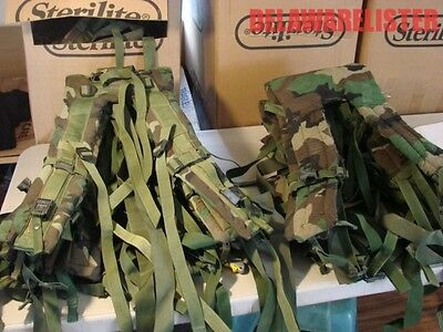 **US Military Army Surplus Molle II/2 Woodland Camo Pack/Frame Shoulder Straps