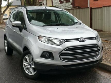 2014 Ford Ecosport BK Trend PwrShift Silver 6 Speed Sports Automatic Dual Clutch Wagon West Hindmarsh Charles Sturt Area Preview