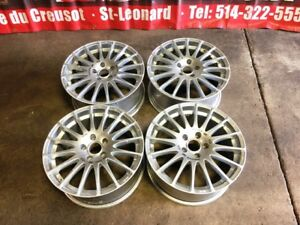 JDM OZ RACING MAGS SILVER 17INCH 5X114.3 OFFSET 35 FOR SALE