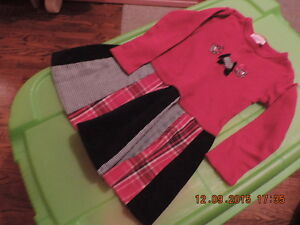 "Girl's 3T Gymboree ""Scottie Dog"" Sweater, Hat & Dress London Ontario image 2"