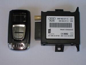 AUDI-A8-4h-A7-4g-A6-C7-Calefaccion-auxiliar-Mando-a-distancia
