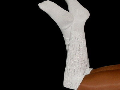 20 Large Women's Slouch to Knee Socks for Hooters Aerobics cheerleader uniform