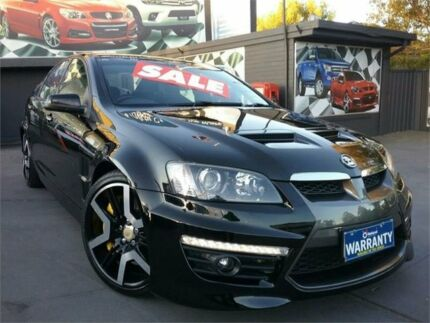 2010 Holden Special Vehicles GTS E Series 2 Black 6 Speed Manual Sedan