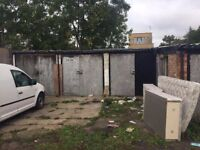 Land and 6 Garages for rent on North Circular (A406) Bounds green-southgate area. Fantastic location