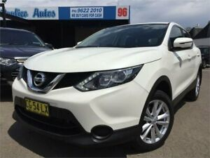 2015 Nissan Qashqai J11 ST White Continuous Variable Wagon Blacktown Blacktown Area Preview