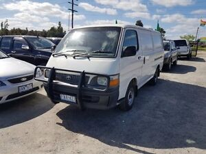 1999 Toyota Hiace RZH113R RZH113R White 5 Speed Manual Officer Cardinia Area Preview