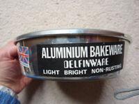 Aluminium cake tin - Delfinware brand - 5-6 inches