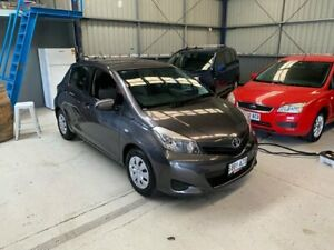 2013 Toyota Yaris NCP130R YR Grey 5 Speed Manual Hatchback Lonsdale Morphett Vale Area Preview