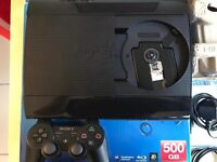 PlayStation 3 500GB Super Slim with 41 games