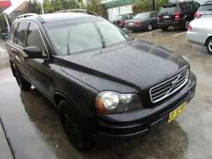 2008 Volvo XC90 MY07 D5 Black 6 Speed Automatic Geartronic Wagon Burwood Burwood Area Preview