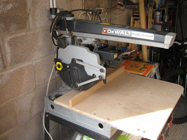 Dewalt powershop radial arm saw dw 1251 in whitchurch cardiff dewalt powershop radial arm saw dw 1251 greentooth Image collections