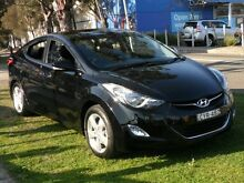 2013 Hyundai Elantra MD2 Elite Black 6 Speed Automatic Sedan Canada Bay Canada Bay Area Preview