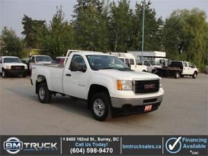 2012 GMC SIERRA 2500HD REGULAR CAB LONG BOX 4X4
